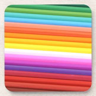 Rainbow of Colored Pencils.png Coaster