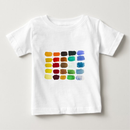 rainbow of colors baby T-Shirt
