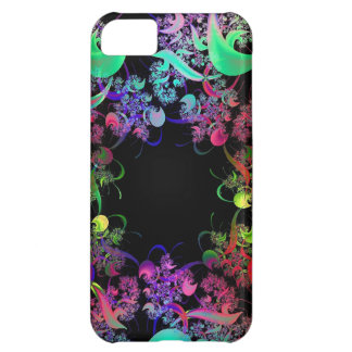 Rainbow of Colors Fractal Art Cover For iPhone 5C