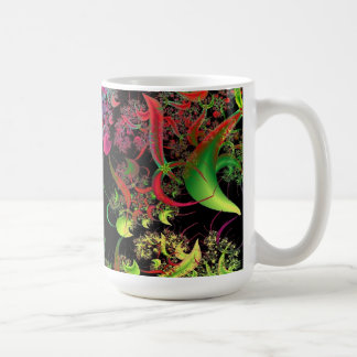 Rainbow of Colors Fractal Art Coffee Mug