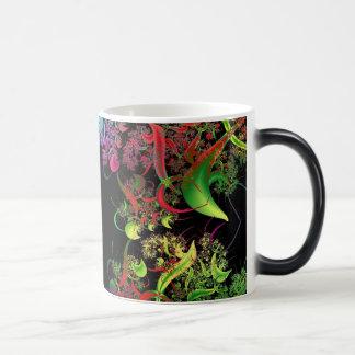 Rainbow of Colors Fractal Art Magic Mug