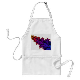 Rainbow of Colors in this Fractal Flower Adult Apron