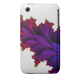 Rainbow of Colors in this Fractal Flower iPhone 3 Cases