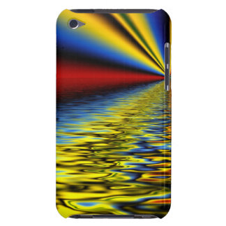 Rainbow of Colors Reflected Over Rippling Water iPod Touch Cases