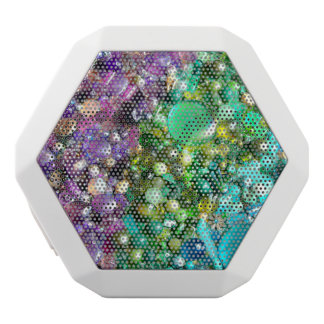 Rainbow of Craft Beads White Boombot Rex Bluetooth Speaker