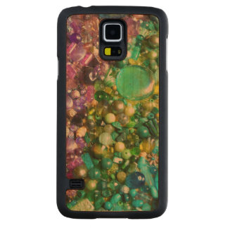 Rainbow of Craft Beads Carved Cherry Galaxy S5 Case