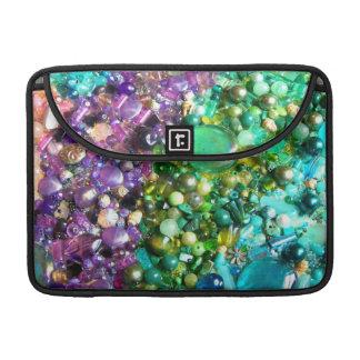 Rainbow of Craft Beads Sleeve For MacBook Pro