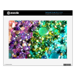 Rainbow of Craft Beads Skins For Small Netbooks