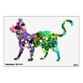 Rainbow of Craft Beads Wall Decal
