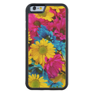 Rainbow of Daisies Carved® Maple iPhone 6 Bumper Case