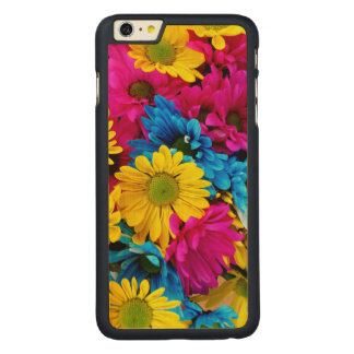 Rainbow of Daisies Carved® Maple iPhone 6 Plus Case