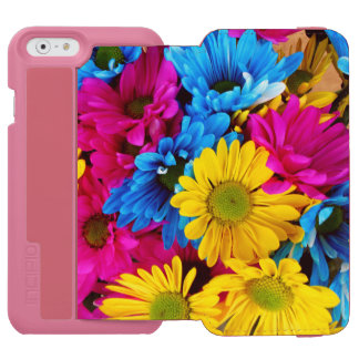 Rainbow of Daisies iPhone 6/6s Wallet Case