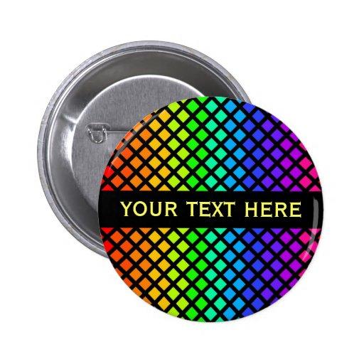 Rainbow of Diamonds button
