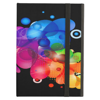 Rainbow of Drips and Splats Cover For iPad Air