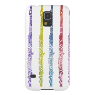 Rainbow of Flutes Galaxy S5 Case