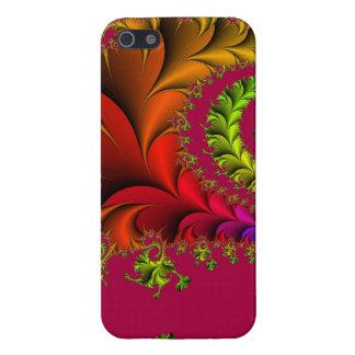Rainbow of Fractal Art iPhone 5 Cases