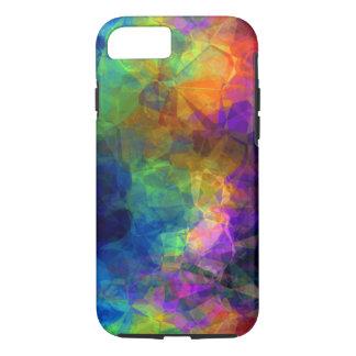 Rainbow of Geometric Pyramids Abstract iPhone 7 Case