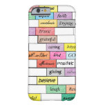 Rainbow of Inspirational Graffiti iPhone 6 case