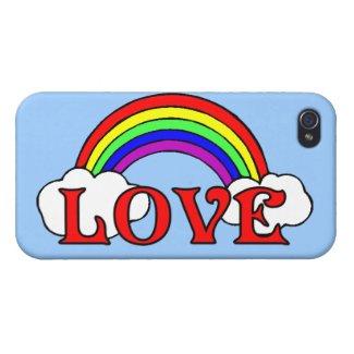 Rainbow Of Love iPhone 4/4S Case