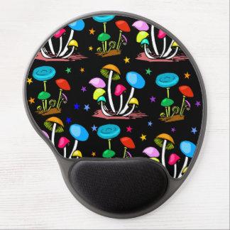 Rainbow Of Mushrooms Gel Mouse Pad