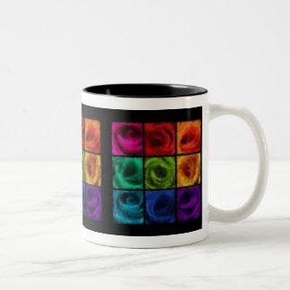 Rainbow of Roses Oil Mug