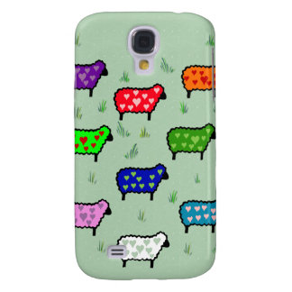 Rainbow Of Sheep Samsung S4 Case