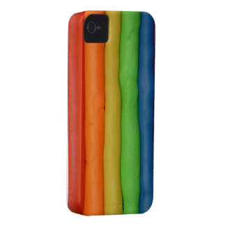Rainbow of Squishy Dough iPhone 4 Case-Mate Case