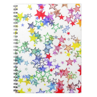 Rainbow of Stars Notebooks