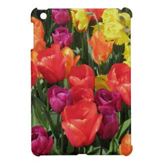 Rainbow Of Tulips iPad Mini Cases