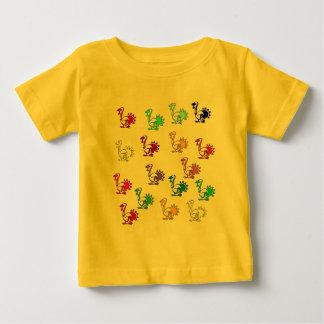 Rainbow Of Turkeys Baby T-Shirt