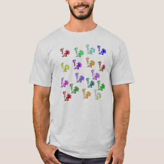 Rainbow Of Turkeys T-Shirt