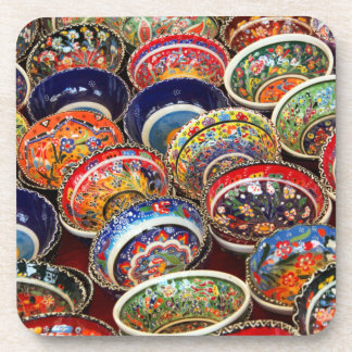 Rainbow of Turkish Bowls Coaster