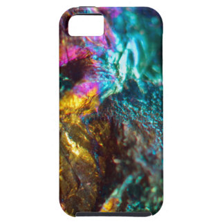 Rainbow Oil Slick Crystal Rock iPhone SE/5/5s Case