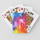 Rainbow Oils Playing Cards