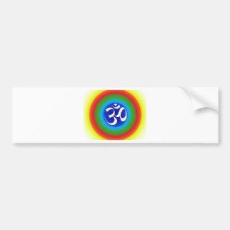 Rainbow_om Car Bumper Sticker