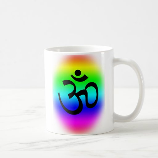 Rainbow Om Coffee Mug