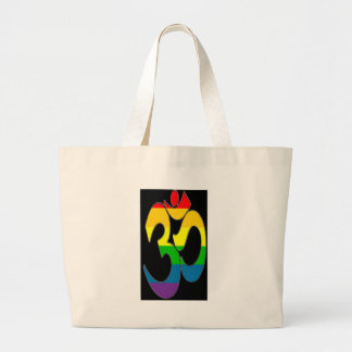 Rainbow OM Large Tote Bag