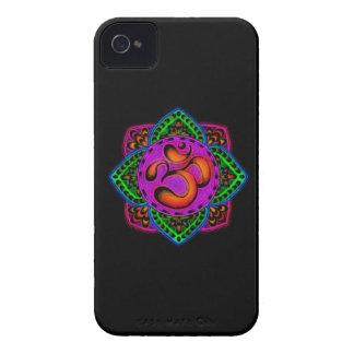 rainbow om mantra iPhone 4 Case-Mate cases
