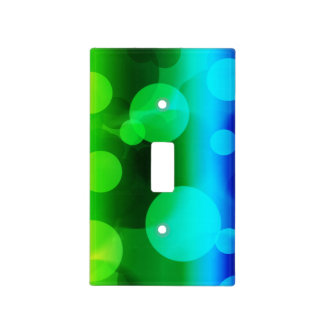 Rainbow Ombre Bokeh Light Switch Cover