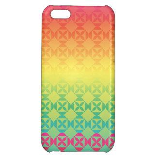 Rainbow Ombre Fiesta iPhone 5C Cases