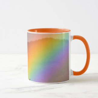 RAINBOW ON A COUNTRY ROAD WITH TREE MUG