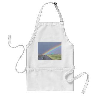 Rainbow On Road Apron