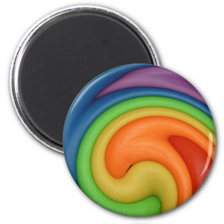 Rainbow on Spin Cycle Refrigerator Magnet