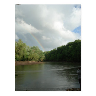 Rainbow on the Meramec Postcard