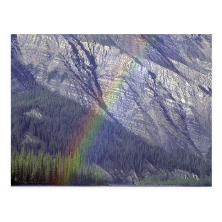 Rainbow on the Nahanni River, NWT, Canada Postcard