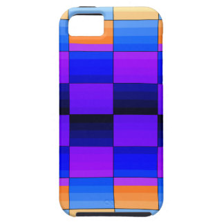 Rainbow Optical Illusion Spectrum Color Chessboard iPhone 5 Covers
