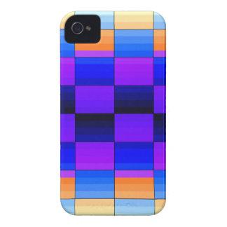 Rainbow Optical Illusion Spectrum Color Chessboard iPhone 4 Case