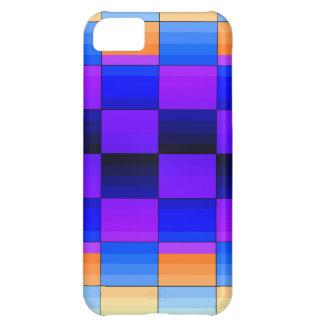 Rainbow Optical Illusion Spectrum Color Chessboard iPhone 5C Covers