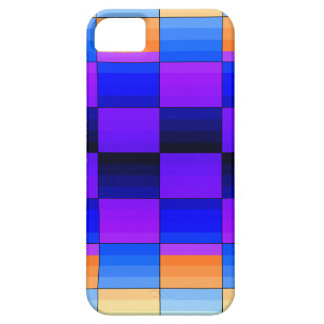 Rainbow Optical Illusion Spectrum Color Chessboard iPhone 5 Case
