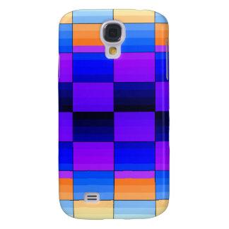 Rainbow Optical Illusion Spectrum Color Chessboard HTC Vivid Cover